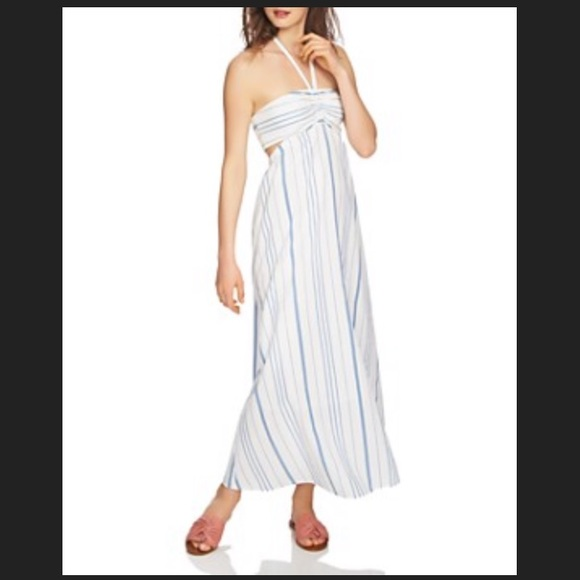 1. State Dresses | 1state Halter Maxi Dress